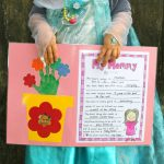 A Mothers Day Project and FREE All About Mom Questionnaire Printable