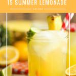 15 Summer Lemonade Recipes