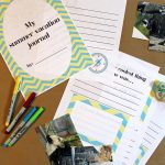 Free Summer Vacation Journal Printable