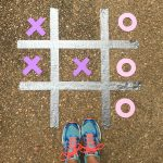 DIY Outdoor Tic Tac Toe Board Game