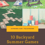 10 Backyard Summer Games