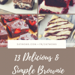 13 Delicious and Simple Brownie Recipes