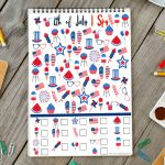 Free 4th of July I Spy Printable