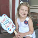 Free 4th of July Printable Fan Printables