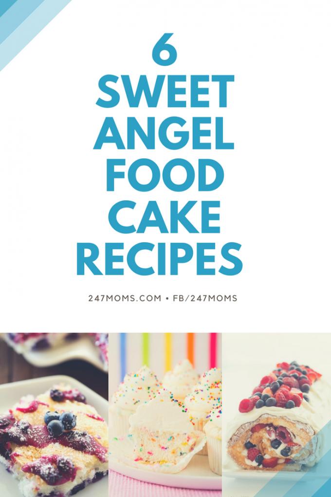 Lil Luna Angel Food Cake Churro Bites