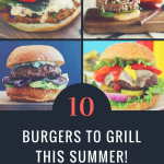 10 Burgers to Grill This Summer