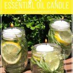MOM Tip: DIY Bug Repellent Candle