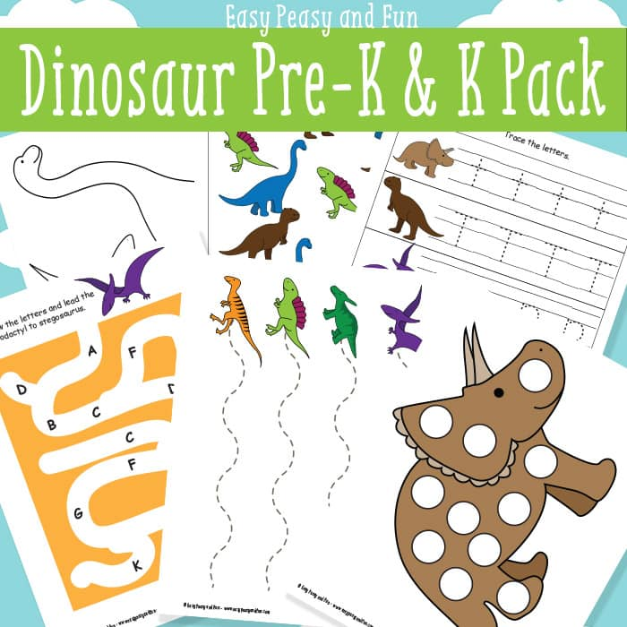 free dinosaur printables for preschool 24 7 moms. Black Bedroom Furniture Sets. Home Design Ideas
