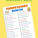 Free Summer Bucket Reading List