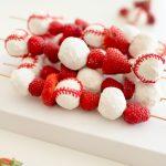MOM Tip: Baseball Donut & Fruit Kabobs