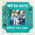 "MOM Tip: DIY ""We're Nuts About You, Dad"" Photo Frame"