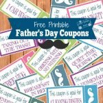 Free Father's Day Coupon Printables