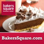 Free Pie at Bakers Square