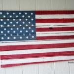 DIY Wood Pallet American Flag