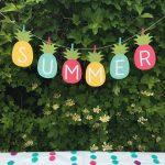 Free Summer Banner Printable