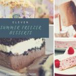 11 Summer Freezer Desserts