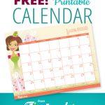 Free Printable 2018 Calendar by Tip Junkie