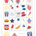 Free 4th of July Bingo Printable