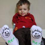 MOM Tip: DIY Gripper Socks