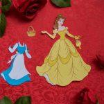 Free Disney Belle Paper Doll Printable