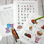 Free Alphabet Printables for Preschool
