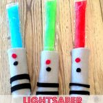 MOM Tip: Light Saber Popsicles