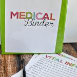 Free Medical Binder Printables