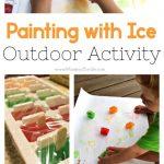 MOM Tip: DIY Ice Painting