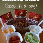 MOM Tip: Walking Tacos (aka Tacos in a Bag)