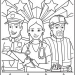 Free Labor Day Coloring Page Printable