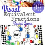 Free Equivalent Fractions Board Game Printable
