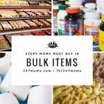 Every Moms Must Buy in Bulk Items