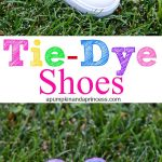 MOM Tip: DIY Tie-Dye Shoes
