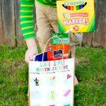 Free School Supply Scavenger Hunt Printables