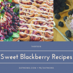 13 Sweet Blackberry Recipes
