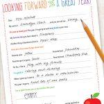 Free Back to School Teacher Letter