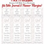 Free Coloring Bible Bookmark Printable