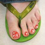 MOM Tip: Stained Toe Nails
