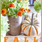 MOM Tip: DIY Fall Twine Wrapped Vases