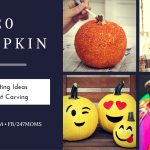 20 Pumpkin Decorating Ideas Without Carving