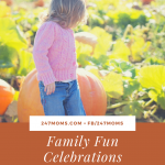 Family Fun Celebrations in October