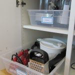 MOM Tip: Kitchen Organizing with Pretend Pull-Outs