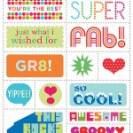 Free Scrapbook Clip Art and Template Printables