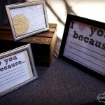 Free I Love You Because Printable