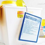 Free Cleaning Checklist Card Printables