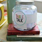 Free Dinner Conversation Starter Printables