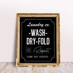 Free Farmhouse Laundry Wall Art Printables