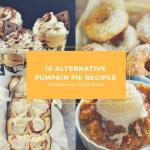 10 Alternative Pumpkin Pie Recipes