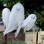 MOM Tip: DIY Hanging Halloween Ghosts