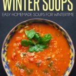 35 Recipes For Comforting Winter Soups eBook for Kindle